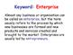 Enterprise & Entrepreneurs - Starting a New Business - Business Studies