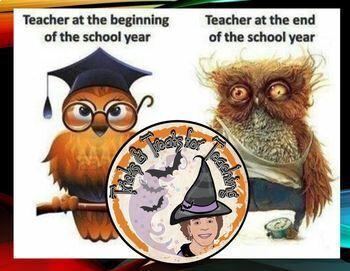 Entertain ANY Teacher Audience Powerpoint Teacher Cartoons Funnies Presentation