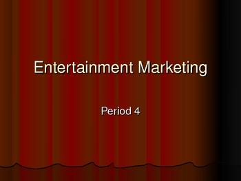 Entertainment Marketing Debate Lesson PowerPoint