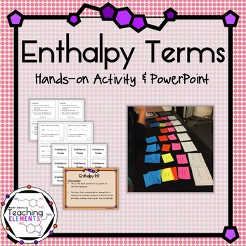 Enthalpy Terminology
