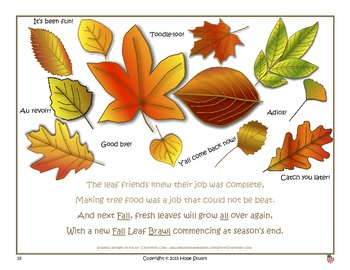 "Enthralled in a Fall Leaf Brawl!-A Clever Story About ""All"" and ""Awl"" Words"