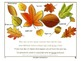 Enthralled in a Fall Leaf Brawl!-The PowerPoint Version