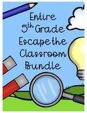 Entire 5th Grade Science Scavenger Hunt Bundle (10 Escape Classrooms)