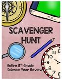 Entire 5th Grade Science Scavenger Hunt (Escape the Classroom) 13 CLUES!