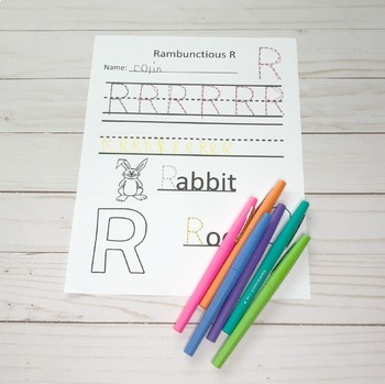 Alphabet Letter Practice Worksheets