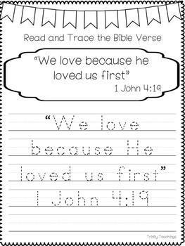 Entire Bible Verse of the Week Curriculum-34 Weeks of Bible Study