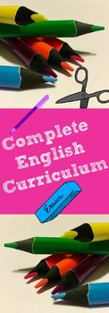 Flash Drive: English Curriculum 7, 8, or 9 Version #2
