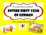 First Year of German Lessons.1266 pages of powerpoints, plans, resources & ideas