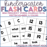 Kindergarten Flash Card Set