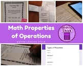 Entire Learning Cycle on Math Properties of Operations TEKS 6.7D Inc. Technology