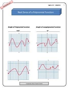 Entire Polynomials Unit - Algebra 2
