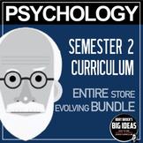 Psychology Bundle! Complete Course Semester 2 (Entire Store!)