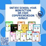 Entire School Year - Non Fiction - QR Code Comprehension BUNDLE