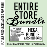 Entire Store Bundle: 200+ High School English Resources