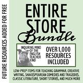 Store Bundle: 400+ High School English Resources (Google Document Links)