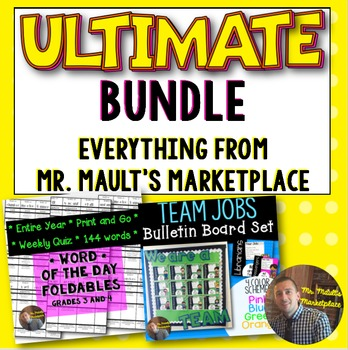 Ultimate Bundle from Mr. Mault's Marketplace- CC Aligned f