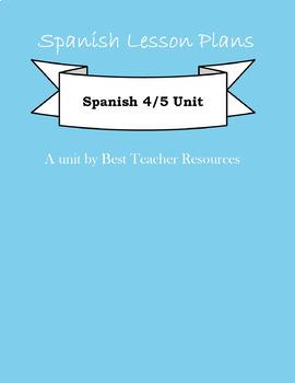 Entire Unit of AP Spanish La Vida Contemporanea
