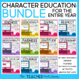 Character Education Bundle Print and Digital Distance Learning