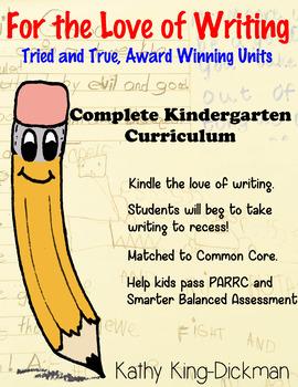 Entire Year Curriculum Kindergarten