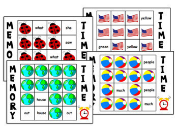 30 Sight Word Memory Games Practice   Fire Safety, Fall, Halloween, Pumpkins