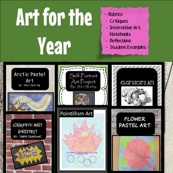 Entire Year of Art Activities