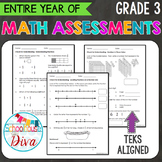 3rd Grade Math TEKS Assessments