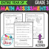 3rd Grade Math TEKS Assessments