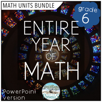 Entire Year of Math - complete math program!!  HUGE BUNDLE (PowerPoint)