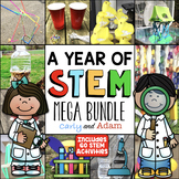 Entire Year of Elementary STEM Activities with Spring STEM Challenges BUNDLE