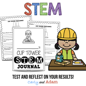 Year of Elementary STEM Activities with End of the Year STEM Challenges BUNDLE