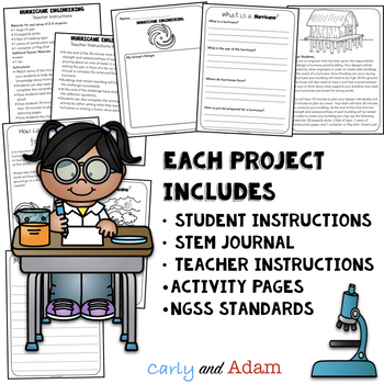 Elementary STEM Activities MEGA BUNDLE with Back to School STEM Challenges