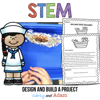 Elementary Stem Activities and Challenges BUNDLE for the Entire Year