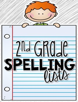 Saxon Spelling Lists for 2nd Grade