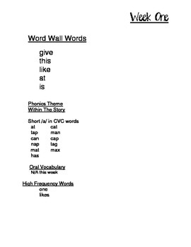 Entire Year of Weekly Words First Graders Should Know