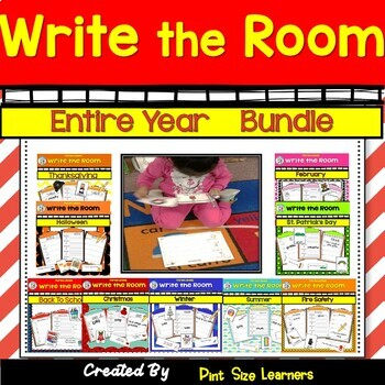 Entire Year of Write The Room Differentiated