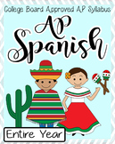 Entire year of AP Spanish Language and Culture PPts. and resources