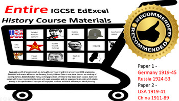 Igcse History Worksheets & Teaching Resources | Teachers Pay