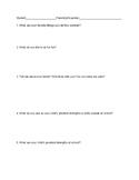 Entrance Conference Survey/Questions