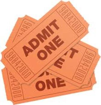 Entrance/Exit Ticket Printable