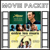 Entre les murs french movie lessons packet study pack  *NO PREP*