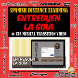 Entreguen la guía - Take Charge of Turning in Spanish Work