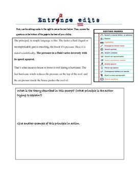 Entrence Edit- Bernoulli's Principle