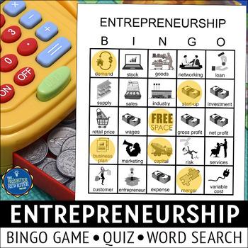 Entrepreneurship Bingo