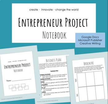Entrepreneur Project - Project Based Learning (PBL) Business - Distance Learning