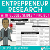 Entrepreneur Research Project   Distance Learning