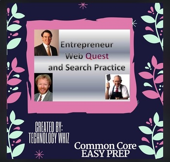 Entrepreneur Web Quest/ Search Terms Practice