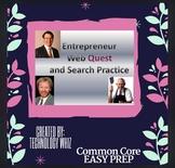 Entrepreneur Web Quest/ Search Terms Practice