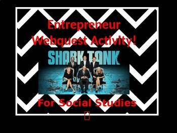 Entrepreneur Web quest Activity