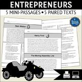 Entrepreneurs Reading Comprehension Passages