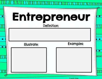 Entrepreneurs Who Started a Business- Digital & Printable Versions